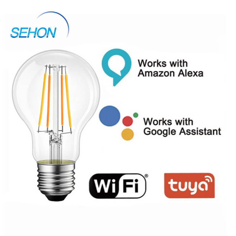 A60 Wifi Smart Retro Bulbs CCT Lumen Dimmable LED Filament Bulb