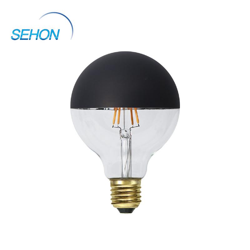 G125-Matte Black Big Size Filament Vintage Led Bulbs