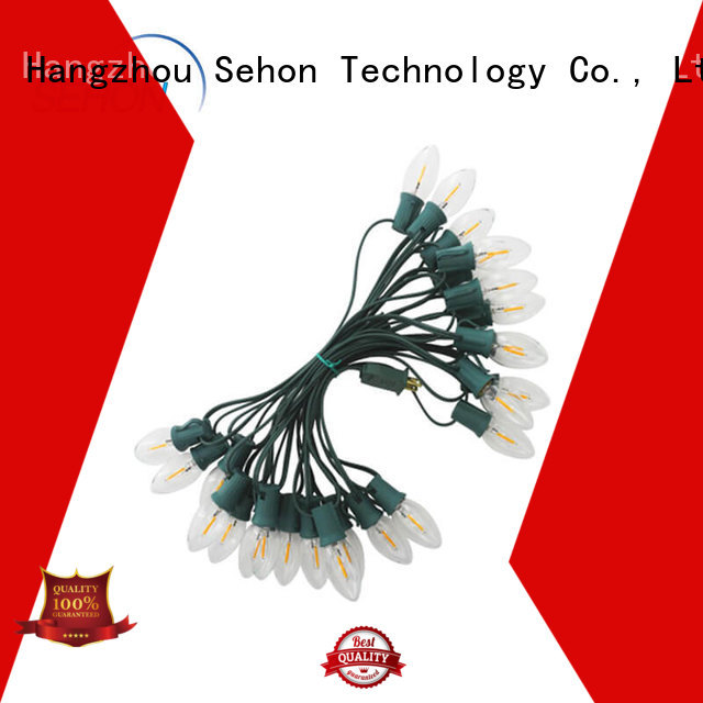 Sehon Wholesale pink string lights company used on Christmas
