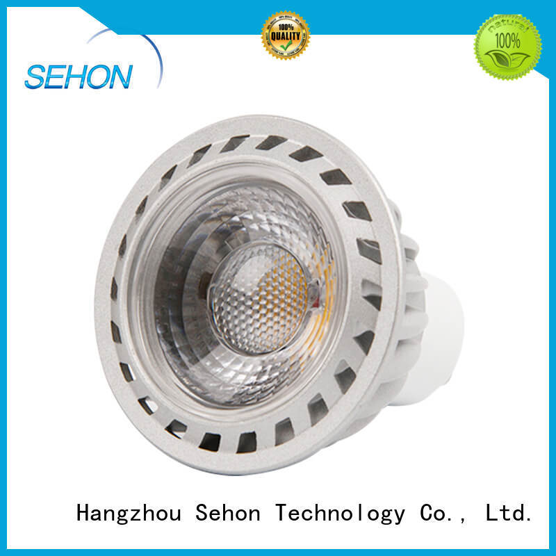 Custom bright led spotlight bulbs company used in cafes lighting