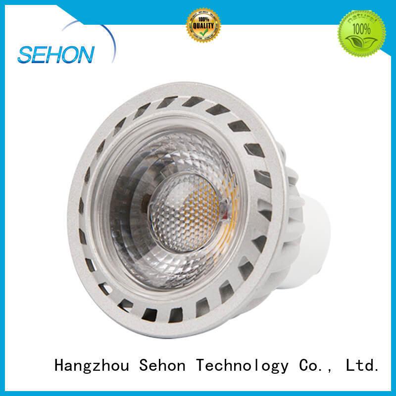 Custom bright led spotlight bulbs company used in cafes lighting