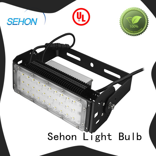 Sehon 100 watt led outdoor flood light company used in indoor space display lighting