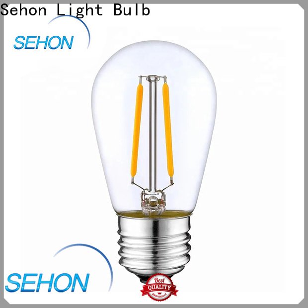 Sehon long filament light bulb manufacturers used in bedrooms