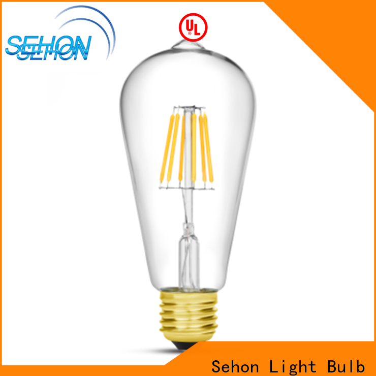 Sehon dimmable vintage led light bulbs factory used in living rooms