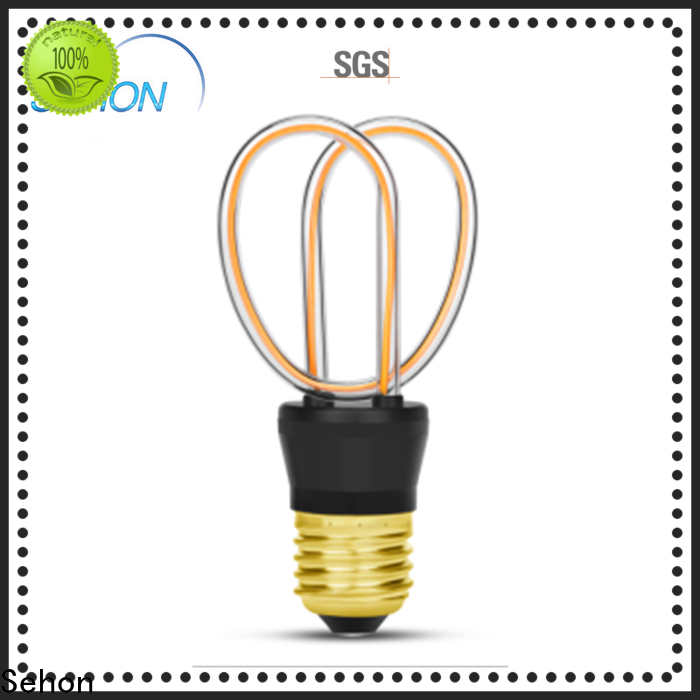 Sehon transparent led bulb for business used in living rooms