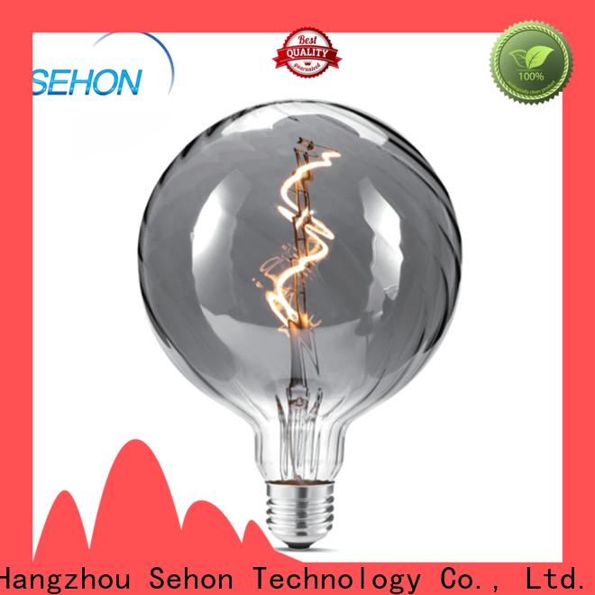 Sehon Custom led vintage edison style bulb company for home decoration
