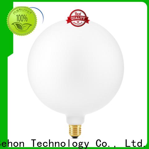 Sehon white light filament bulbs company used in bathrooms
