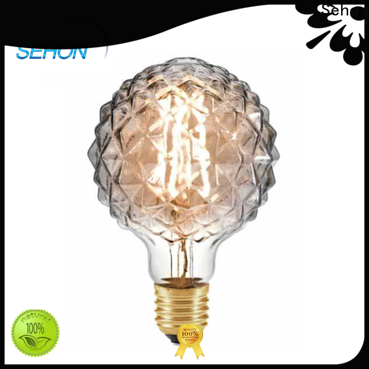 Sehon Latest old filament bulbs manufacturers used in bathrooms