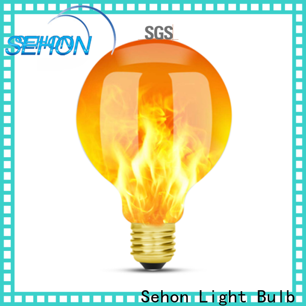 Sehon Latest vintage filament lights company used in living rooms