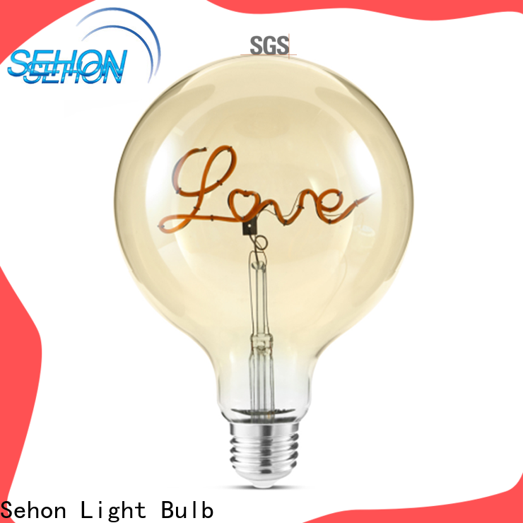 Latest dimmable vintage led light bulbs for business for home decoration
