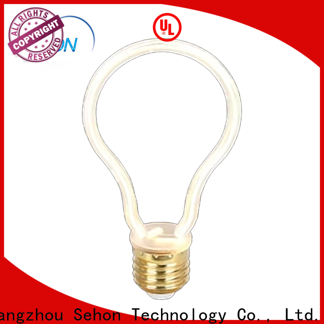 Sehon High-quality led filament bulb flicker manufacturers for home decoration