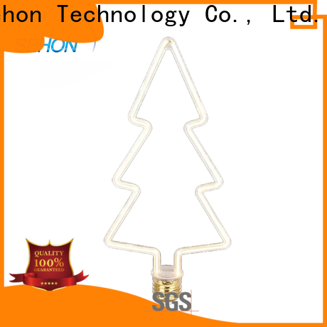 Latest led teardrop filament bulb Supply for home decoration