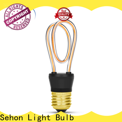 Sehon Latest led filament bulb price Suppliers used in bathrooms