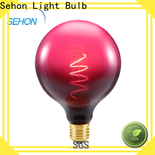 Sehon New led filament voltage factory used in living rooms