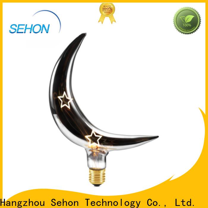 Sehon led teardrop filament 40w equivalent light bulb factory for home decoration