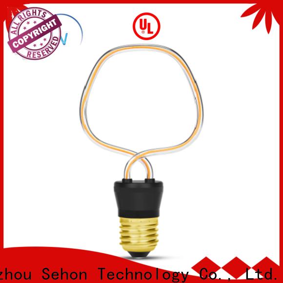Sehon Custom filament bulb light fixtures Supply for home decoration