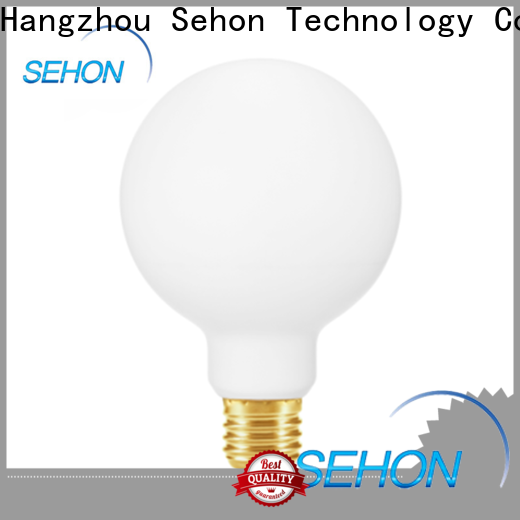 Sehon Best visible filament light bulb company used in bathrooms