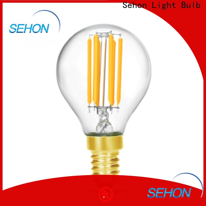 Sehon energy efficient edison light bulbs Supply used in bathrooms