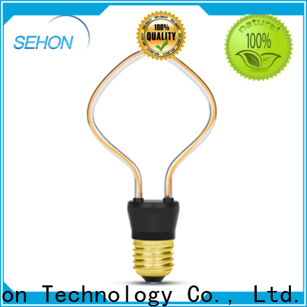 Sehon led filament bulb price Suppliers used in bathrooms