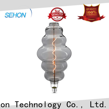 Sehon light bulbs with cool filaments company used in bathrooms