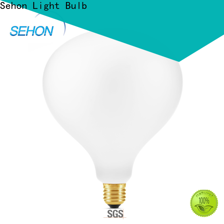 Sehon Wholesale led edison bulb amazon factory for home decoration