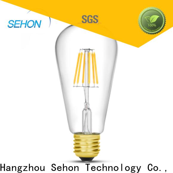 Sehon long filament bulb company used in bathrooms