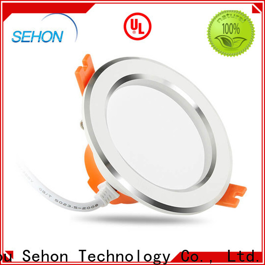 Sehon 100mm led downlight Suppliers used in ceilings and walls