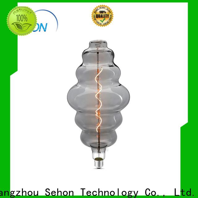 Sehon Latest edison bulb lifespan company for home decoration