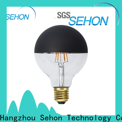 Sehon clear glass led bulb manufacturers for home decoration