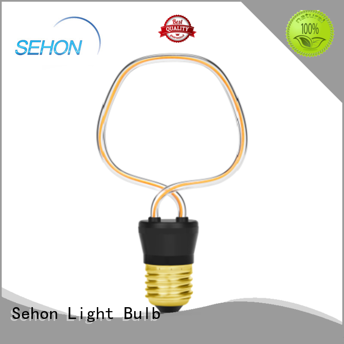 Sehon led dimmable filament factory used in bathrooms