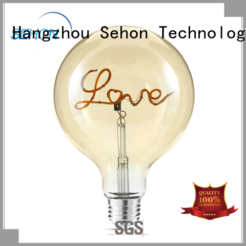 Sehon Wholesale 60w led filament bulb factory used in bedrooms