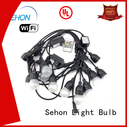 Sehon outdoor strand lighting Suppliers used on Christmas