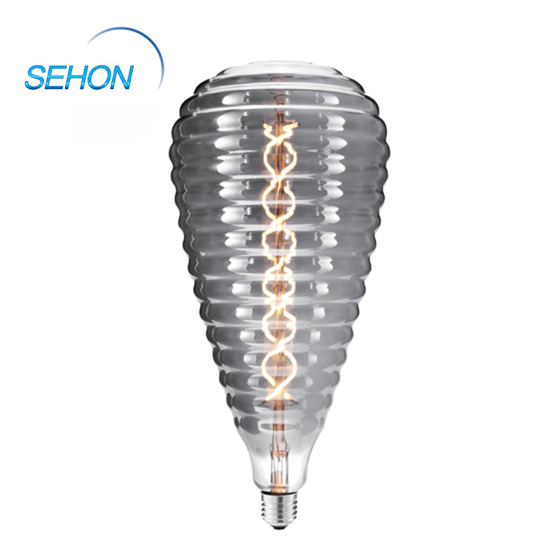 155mm Dimmable Clear/Smoked/Amber Glass LED Large Vintage Light Bulbs