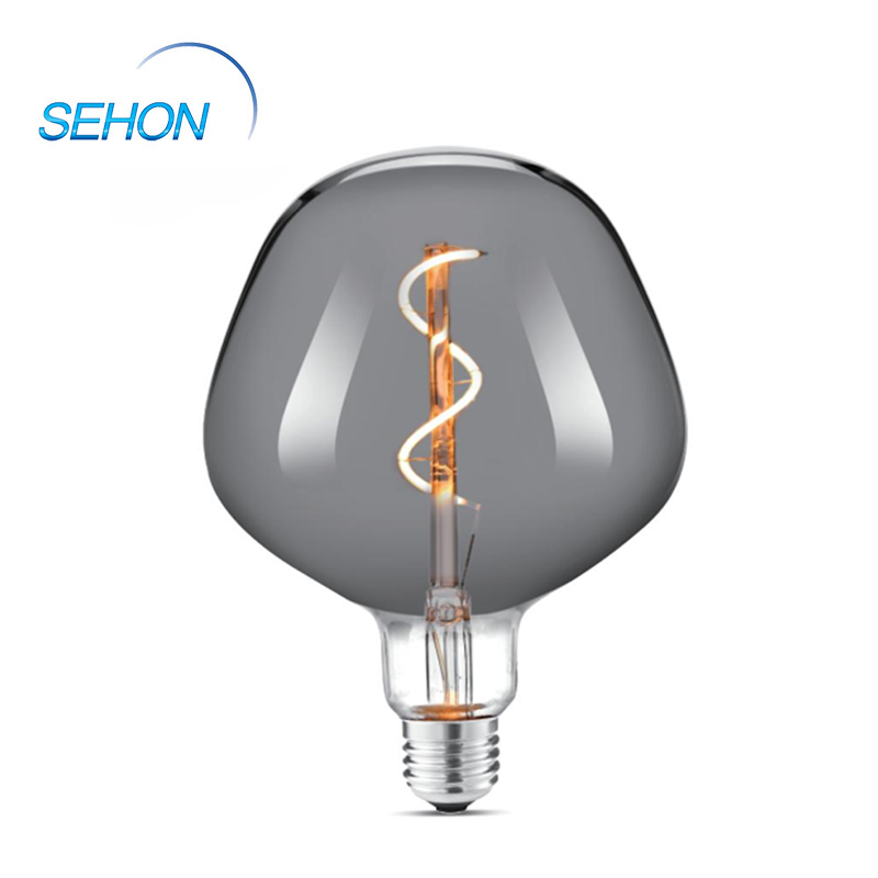 132mm Dimmable Clear/Smoked/Amber Glass Ellipsoidal Edison Filament Bulb