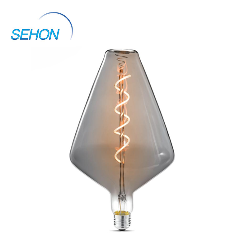 Q150 Dimmer Led Bulbs 4W Dimmable Clear/Smoked/Amber Glass