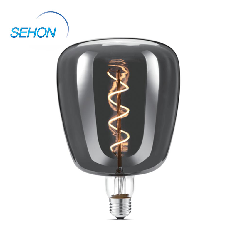 Led Light Bulbs For Home 140mm Dimmable Clear/Smoked/Amber Glass