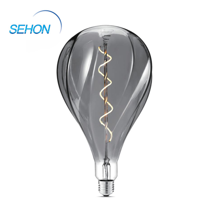 Standard Light Retro Bulbs 165mm Dimmable Clear/Smoked/Amber Glass