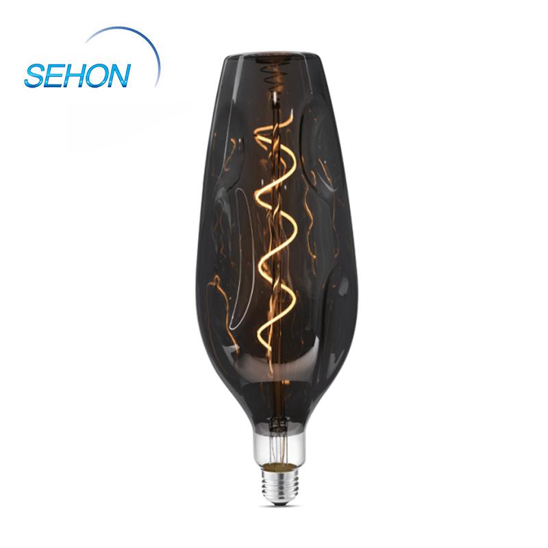 Led Edison Light Bulbs 4W Vase Light Bulb Bottle Dimmable Clear/Smoked/Amber Glass