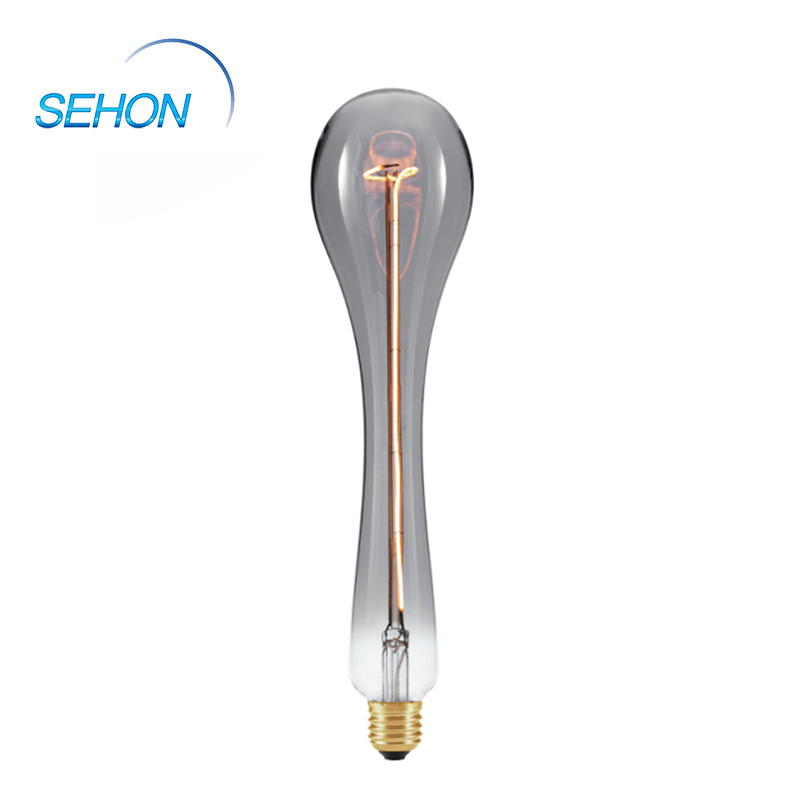 WD80 Long Tube Edison Led Filament Lamp Dimmable Clear/Smoked/Amber Glass