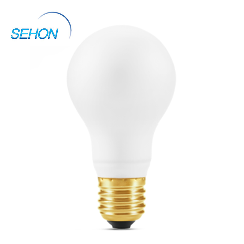 A60 Porcelain Glass Milky Dimming B22 Led Filament Bulb