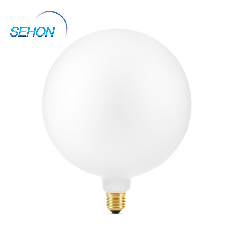 G200 Antique Light Bulbs Filament LED Porcelain Glass Milky 6W Dimming