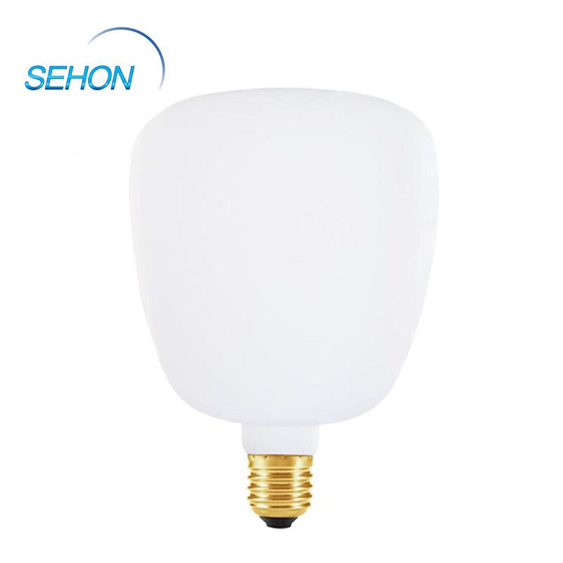 Edison Bulb RT140 LED Porcelain Glass Milky Dimming 6W LED Filament Lamp