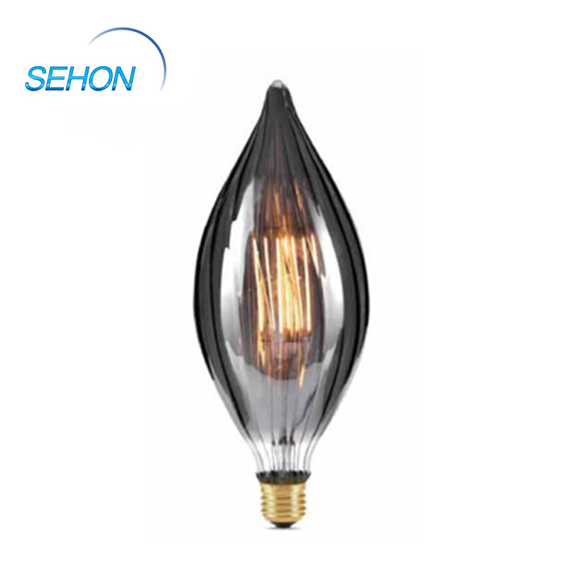 Led Filament Light Bulbs R100 Clear/Smoked/Amber Glass Dimming 4W 2700K