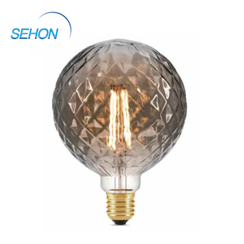Vintage Style Led Bulbs Dimmable Clear/Smoked/Amber Glass G125