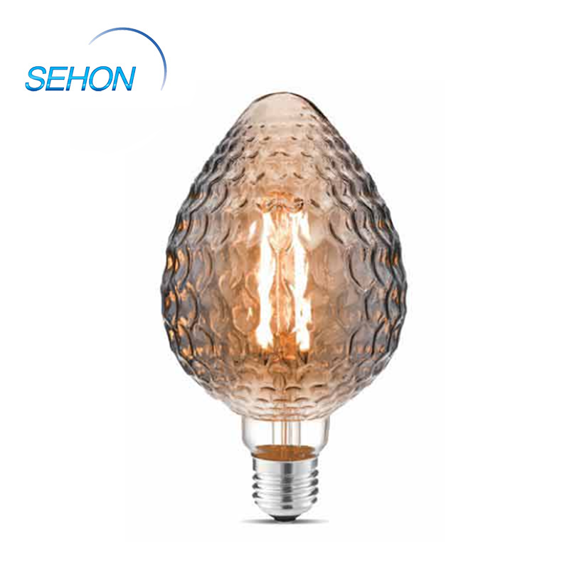 Vintage Light Bulbs 95mm Dimmable Clear/Smoked/Amber Glass S95 4W