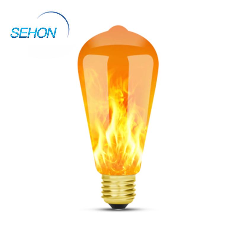 Led Candelabra Bulbs ST64 LED Flame Effect Light 1W 3 Modes