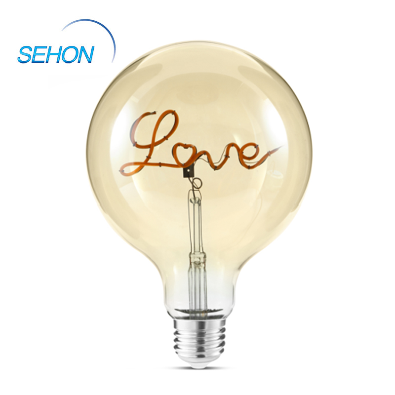 4W Led Bulb Love/Music Flexible Light Bulb Filament G125