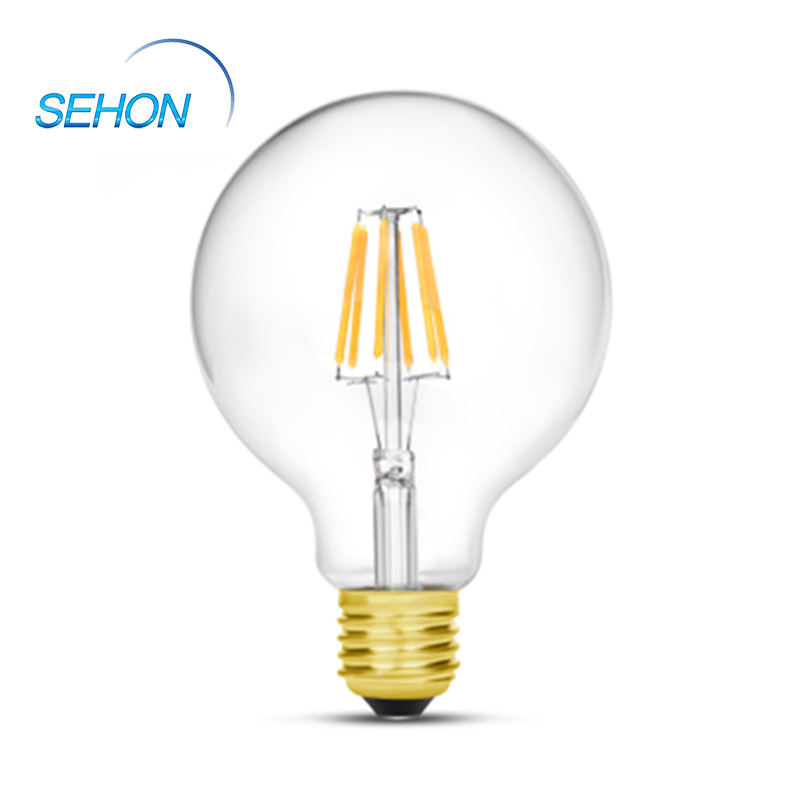 Filament Lighting Edison Vintage Bulb Clear Glass Dimmable G125