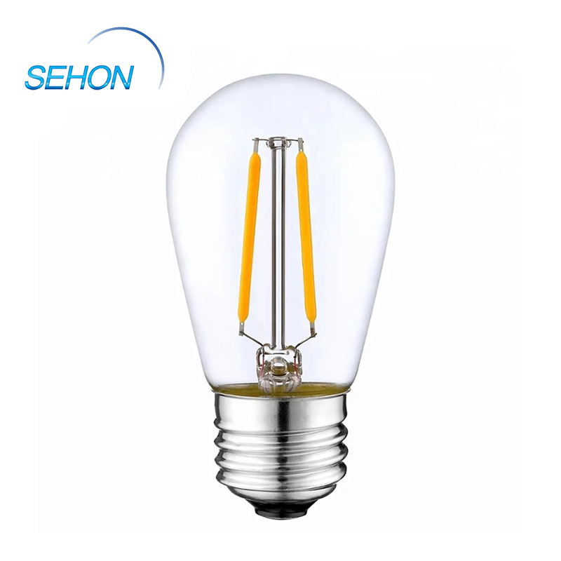 LED Filament Lamp String Light Bulb Glass Lamp Body S14