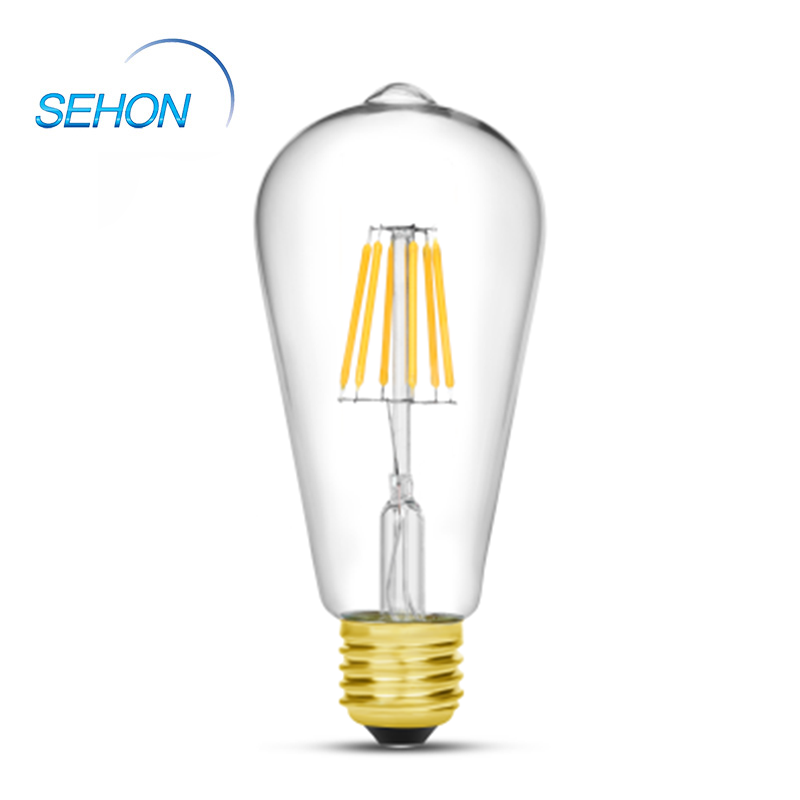 ST64 Edison Style Filament Dimmable Vintage Led Light Bulbs